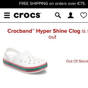 Crocs Hypershine Clogs